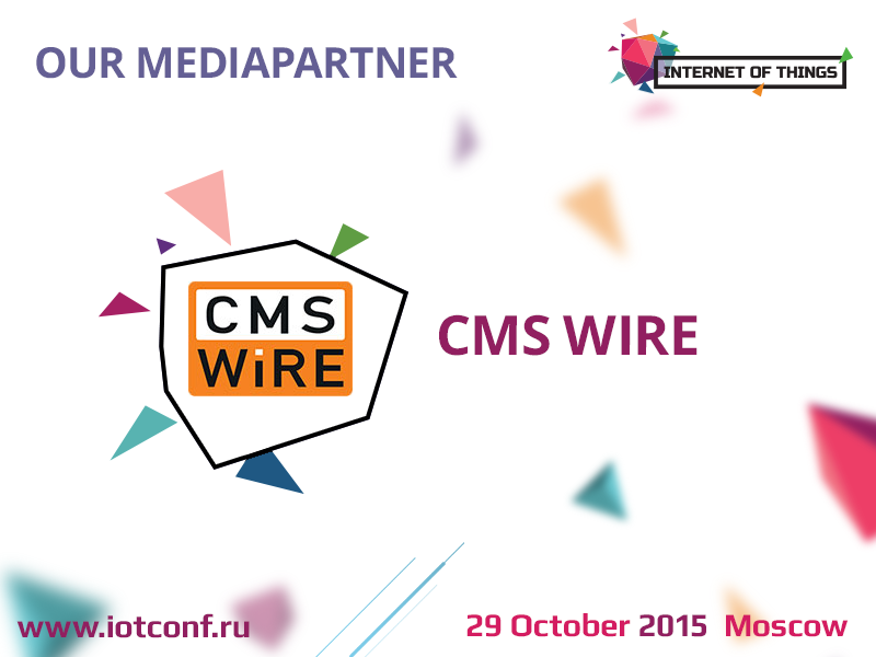 CMS WIRE is new our mediapartner