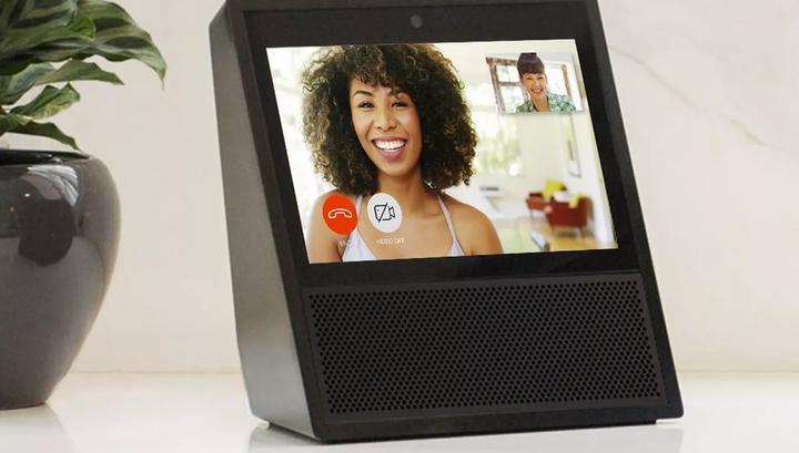 Новый продукт Amazon из линейки Echo позволяет совершать видеозвонки
