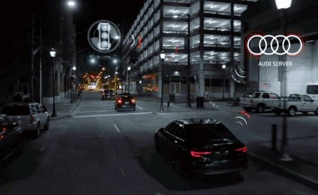 Обладатели новых Audi Q7 и A4 будут знать, когда загорится зеленый, первыми