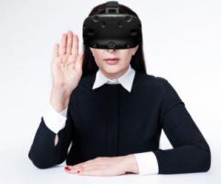 Virtual reality art gallery