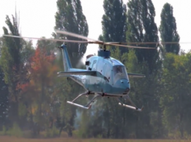 Инновационный украинский вертолет SOFTEX AERO VV-2 совершил первый полет