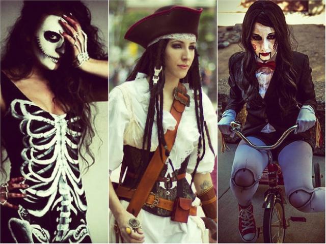 Актуальные костюмы своими руками на Хэллоуин 2016