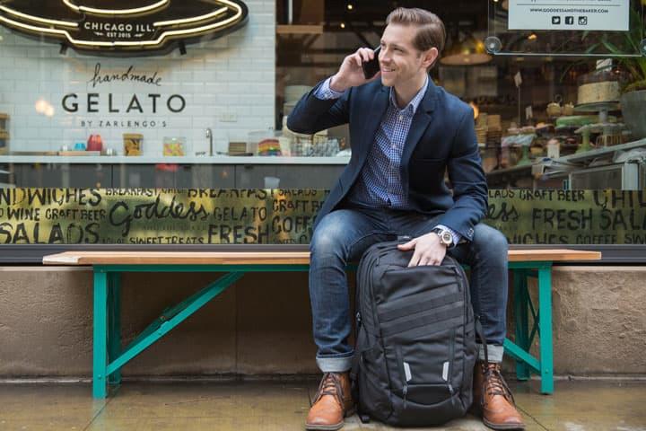 Умный рюкзак Klifit позволит пользователю всегда быть на связи
